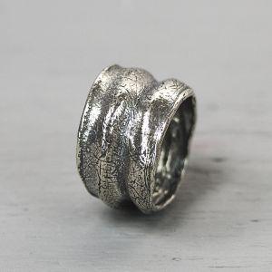 20179 - Ring zilver oxy Harmonica