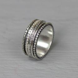 20282 - Ring zilver speels